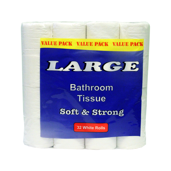 Toilet Rolls 32 Pk Large White