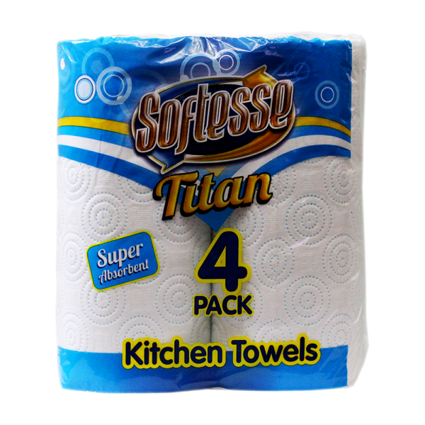 Softesse Titan 4 Pack Kitchen Towels