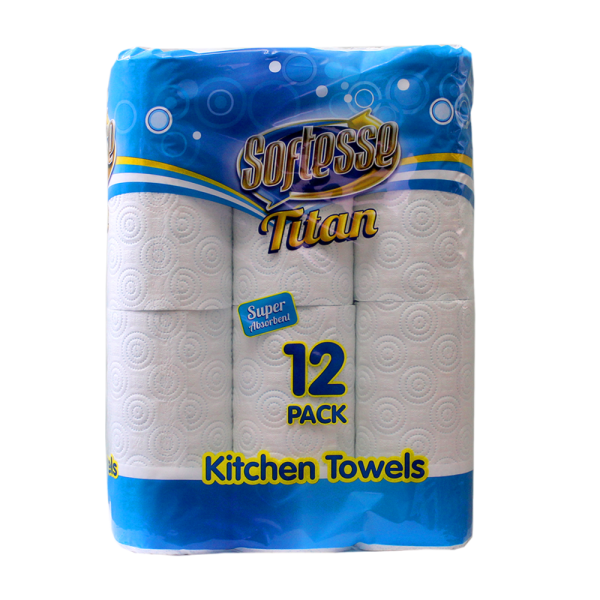 Softesse Titan 12 Pack Kitchen Towels